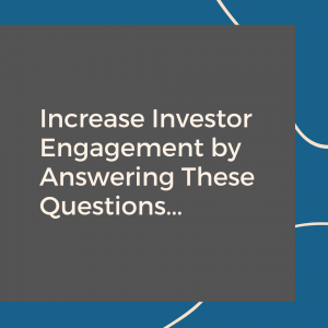 Increase Qualified Investor Leads and Engagement